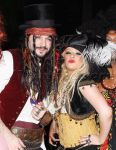 EXCLUSIVE Christina Aguilera is a pirate for Halloween